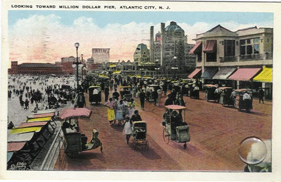 early boardwalk scenes from atlantic city s nostalgic past
