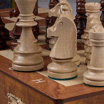 Magnetic Wooden Chess Set Chess Set