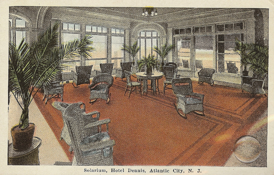 Early Hotels - From Atlanic City's Nostalgic Past
