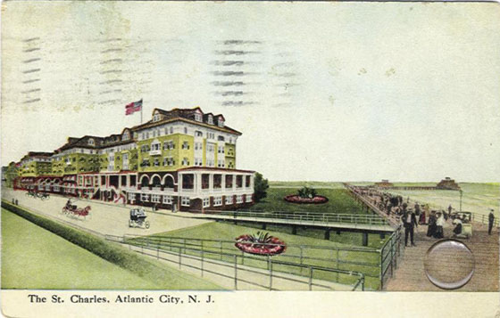 Atlantic City-St.Charles Hotel 1906