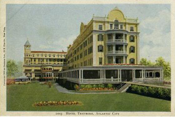 Early Atlantic City Traymore Hotel 1905
