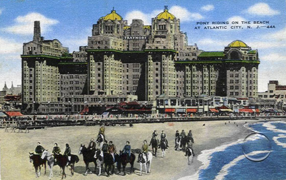 Atlantic City Traymore Hotel