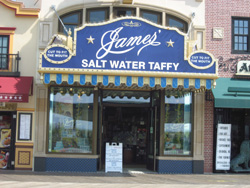 James' Saltwater Taffy Store