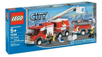 lego city fire ladder truck instructions