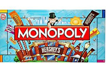 Hershey's Monopoly Board Game