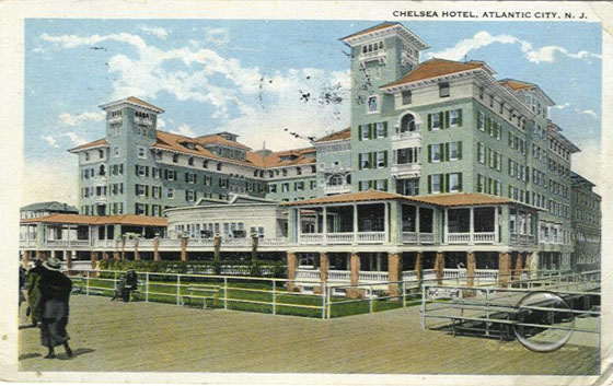 Atlantic City, Chelsea Hotel 1922