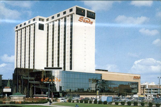 Sands Casino Hotel, Atlantic City