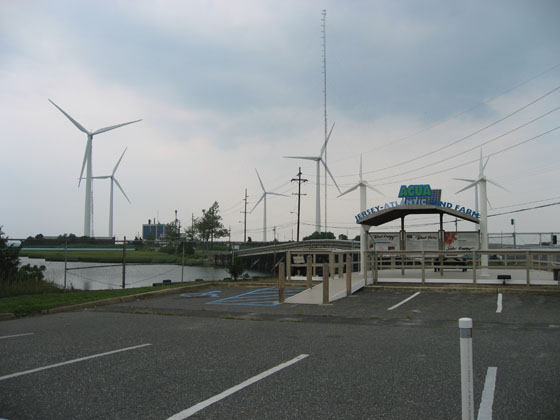 Windmills For Power. The windmills supply power for