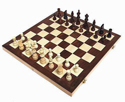 Chess Armory 15 inch Wooden Chess Set