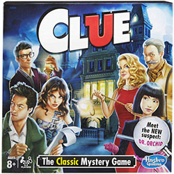 Clue Game - Classic Edition