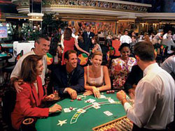 Blackjack at the Golden Nugget