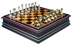 Grace Chess Inlaid Wood Board Game