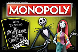 Monopoly Nightmare Before Christmas 25th Anniversary